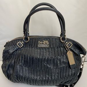 Coach Madison Gathered Leather Large Sophia 15947